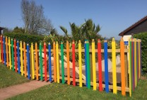 Pencil Fencing (Devon Hills)