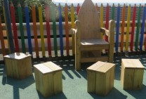 Story Telling Chair & Block Seats